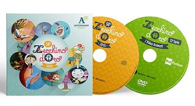 58° Zecchino d'Oro (2015) CD - 12 Serie dei Video Animati dello Zecchino d'Oro DVD