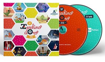 59° Zecchino d'Oro (2016) CD - 13 Serie dei Video Animati dello Zecchino d'Oro DVD