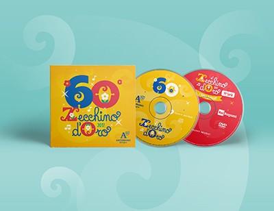 60° Zecchino d'Oro (2017) CD - 14 Serie dei Video Animati dello Zecchino d'Oro DVD