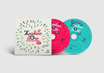 61° Zecchino d'Oro (2018) CD - 15 Serie dei Video Animati dello Zecchino d'Oro DVD