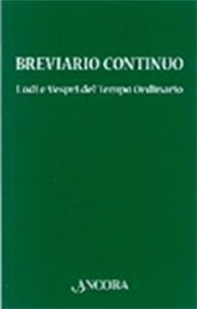 Breviario continuo - Tempo Ordinario
