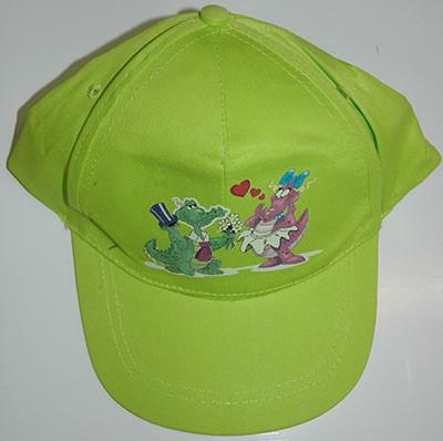 """Cappellino """"Cocco e Drilli"""" (Verde)"""