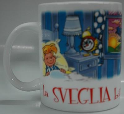 "Tazza Mug ""La Sveglia Birichina"""